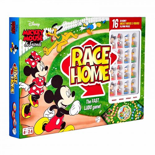Joc de societate Disney Mickey Mouse & Friends - Race Home - BONUS